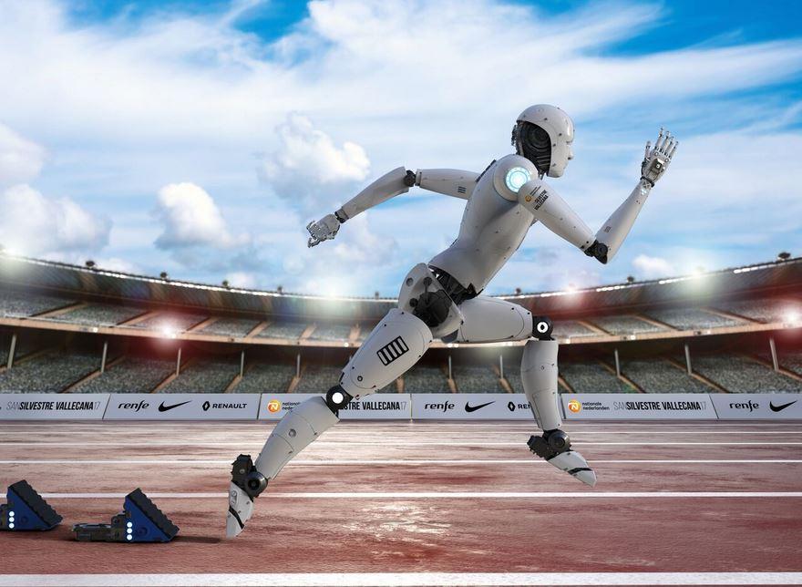 El robot que quiere ganar la San Silvestre Vallecana