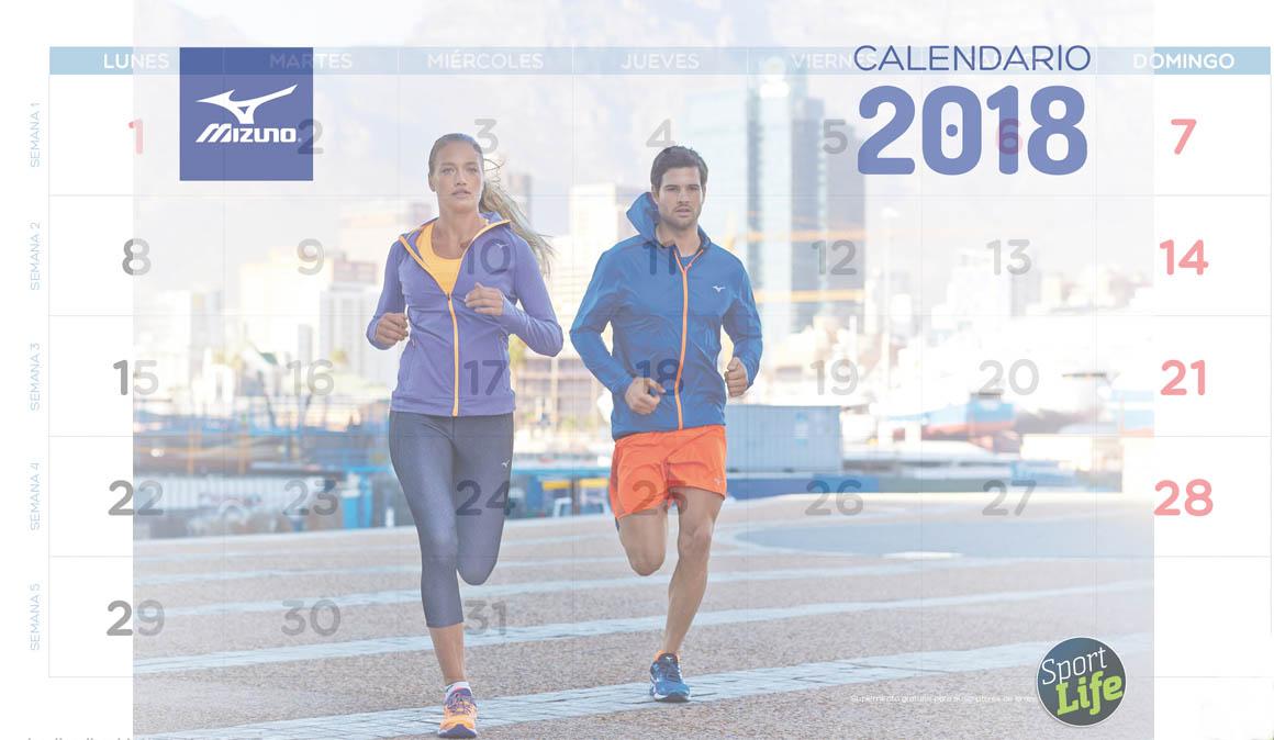 Consigue gratis el calendario que te pone en forma