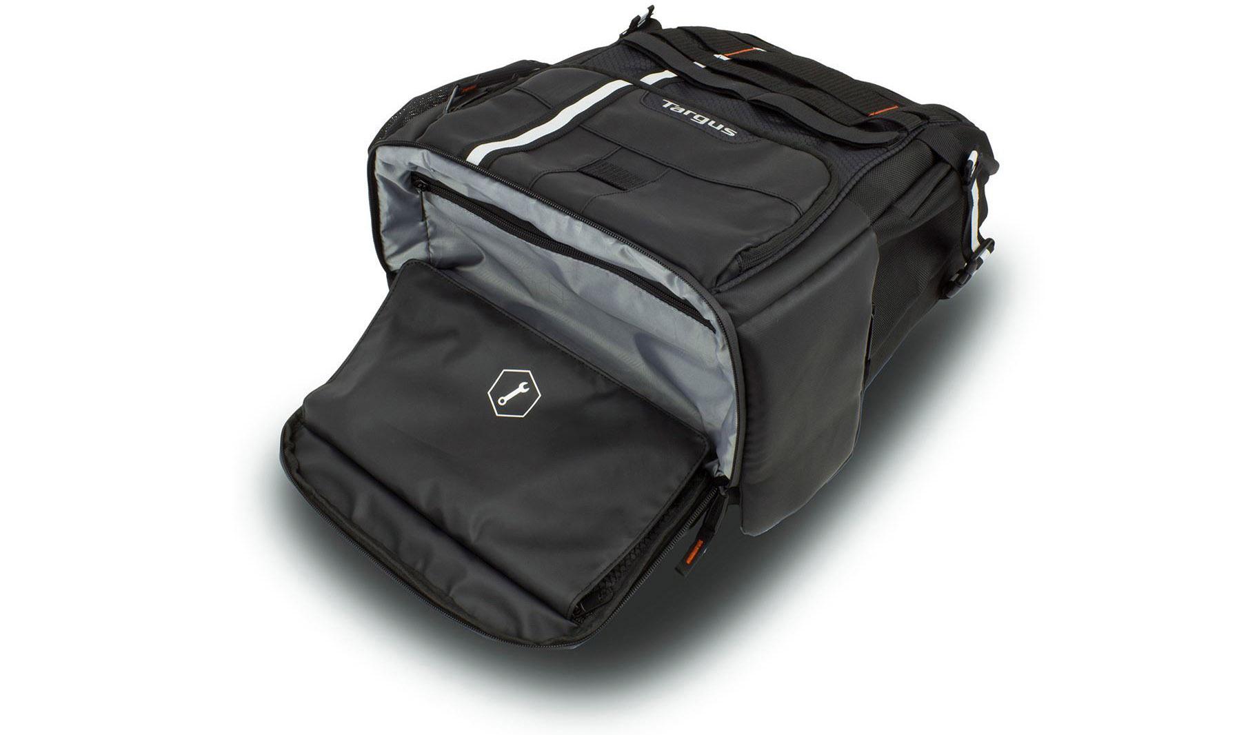 La mochila de los que llevamos el ordenador en la bici