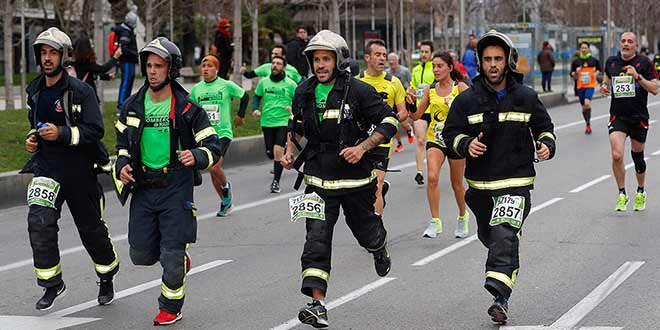 Solo hoy: apúntate a la Carrera Bomberos de Madrid por 8 euros