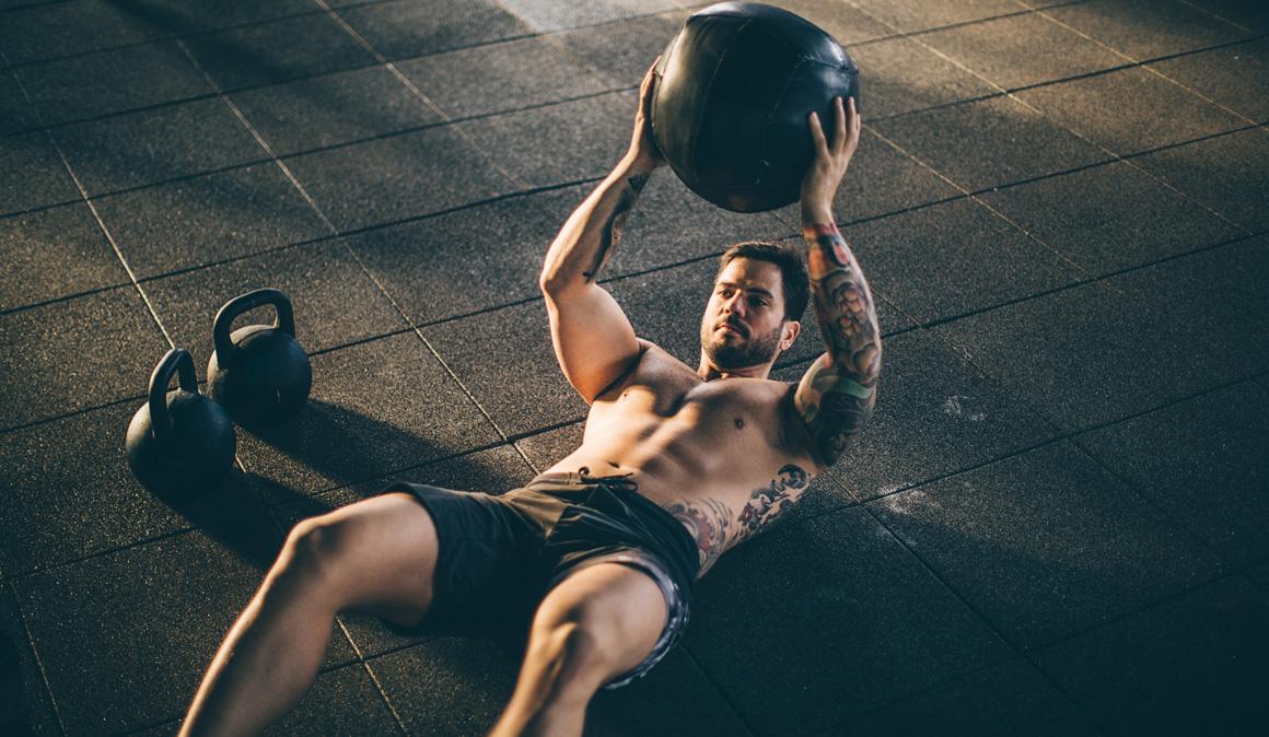 Entrenamiento avanzado para fortalecer abdominales
