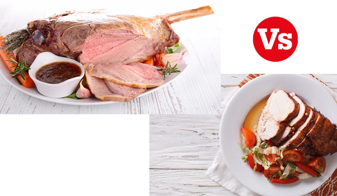 Carne fitness al horno, capón y pierna de cordero que no alteran tu dieta