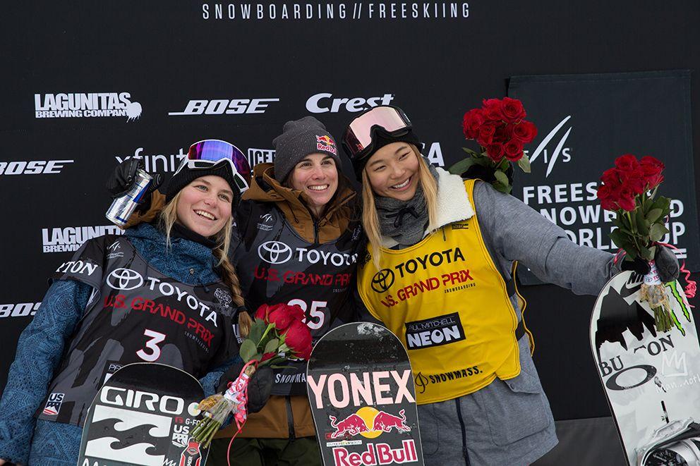 Sensacional triunfo de Queralt Castellet en la Copa del Mundo de snowboard