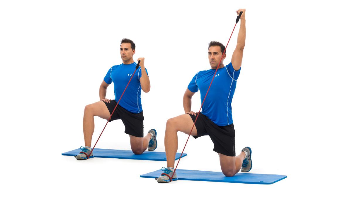 Un ejercicio para trabajar hombros sin lesionarlos