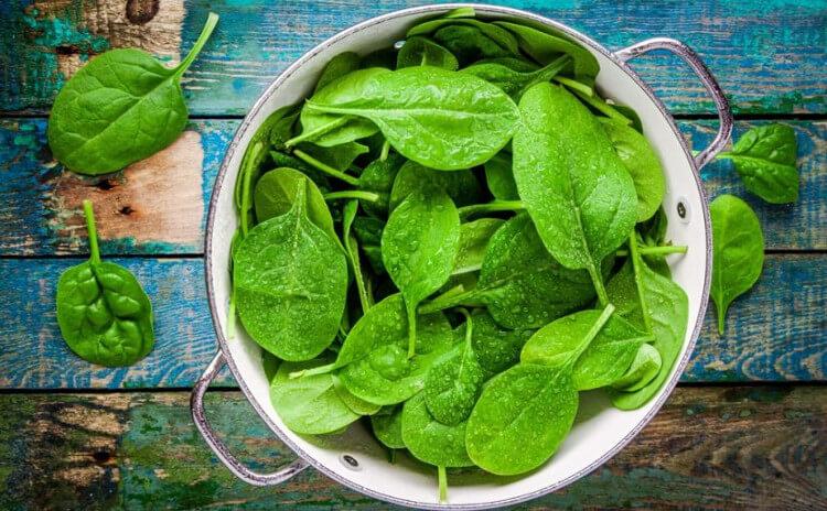 Porqué deberías comer espinacas este mes