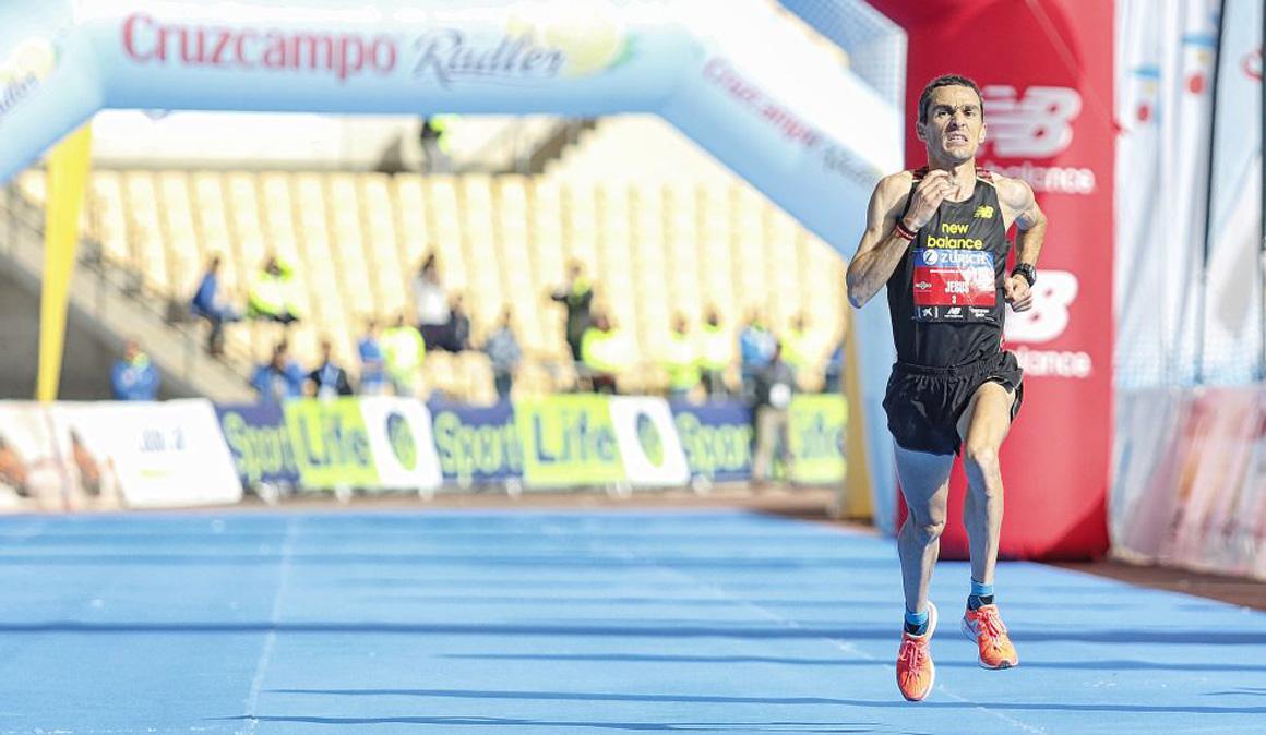 """Jesús España prepara el reto del Zurich Maratón de Sevilla: """"mi rodaje más largo son 34 kilómetros"""""""