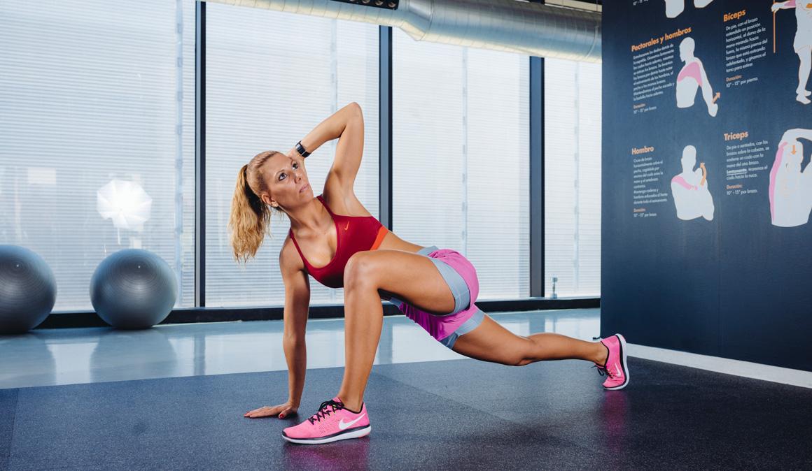 Entrena fuerza y movilidad con estiramientos dinámicos