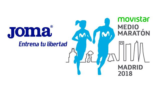 Joma nuevo patrocinador técnico del Movistar Medio Maratón de Madrid