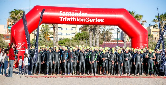 Arrancan las Triathlon Series