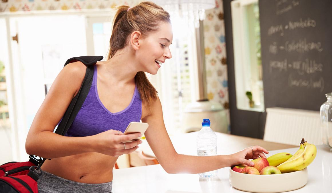 Comida sana para antes y después del gimnasio