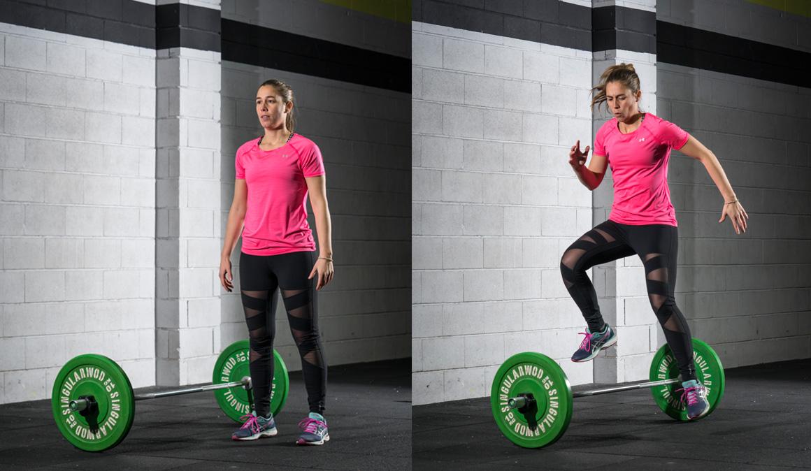 Entrenamiento de cardio exprés: remo + comba + saltos para alta intensidad