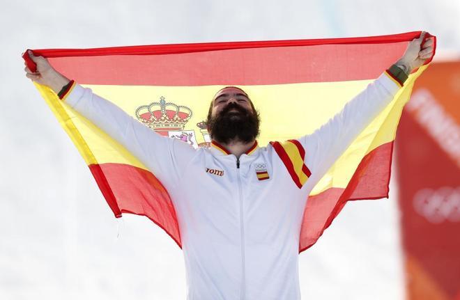Regino Hernández, primera medalla para España en los Juegos Olímpicos de PyeongChang