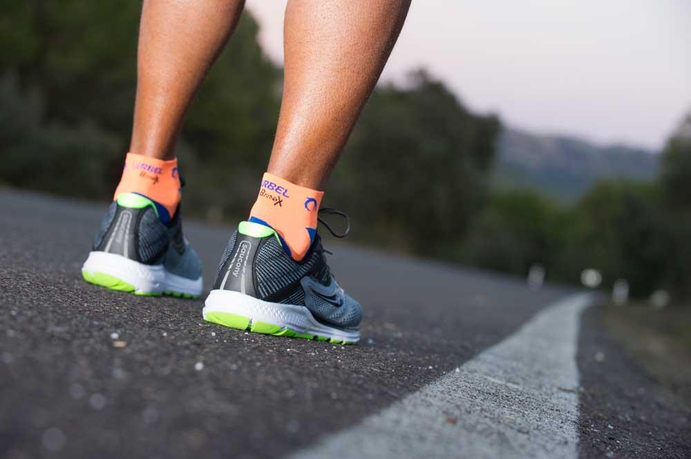 Los calcetines con suspensión y aire acondicionado
