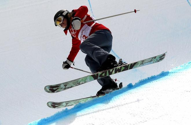 La esquiadora acrobática que en las Olimpiadas no hizo ni una pirueta
