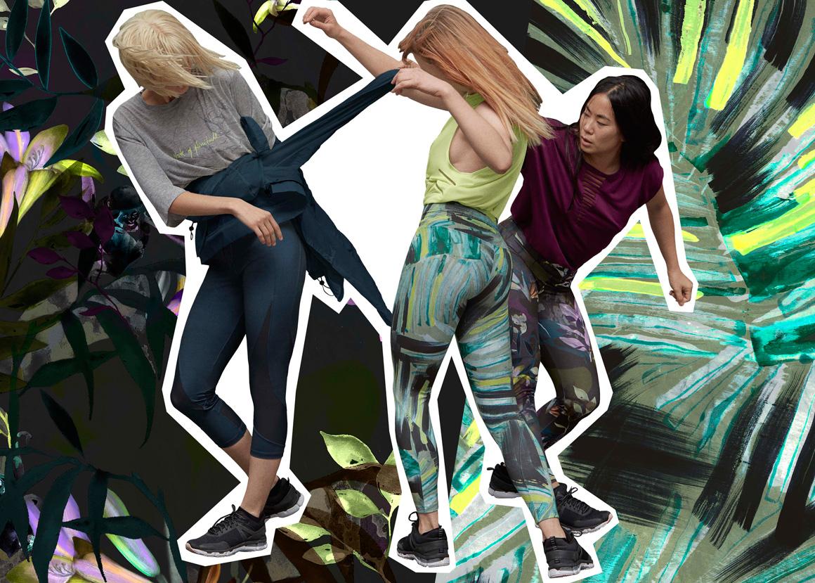 Acid Palms, la colección de gymwear más ácida de Oysho