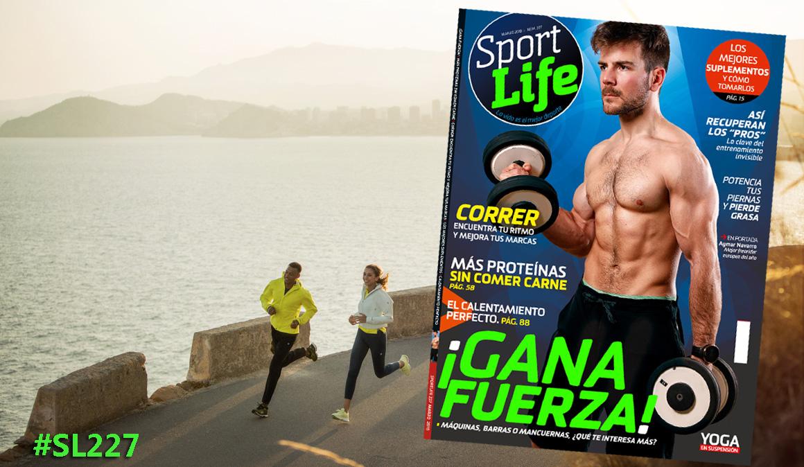 ¡Gana fuerza! Más fuerte con máquinas, barras o mancuernas con el número de marzo de Sport Life