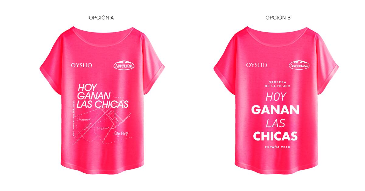 ¿Cuál será la camiseta oficial de la Carrera de la Mujer 2018?