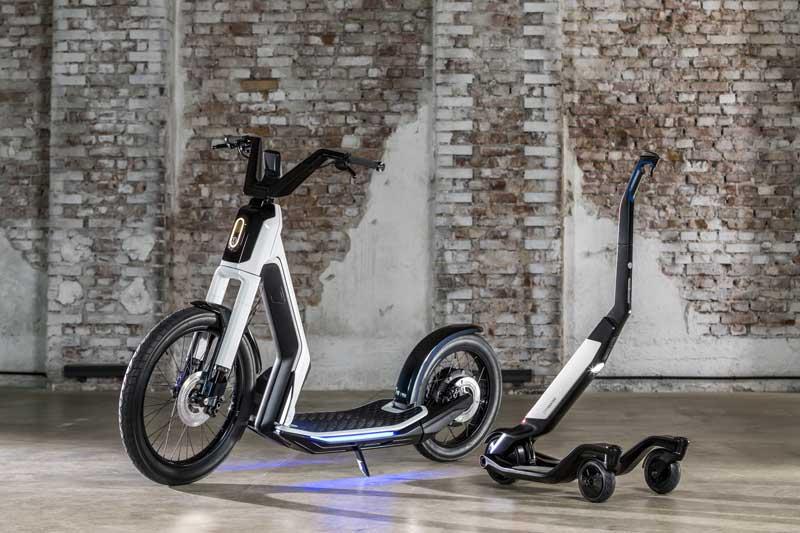 El monopatín y el scooter eléctrico de Volkswagen