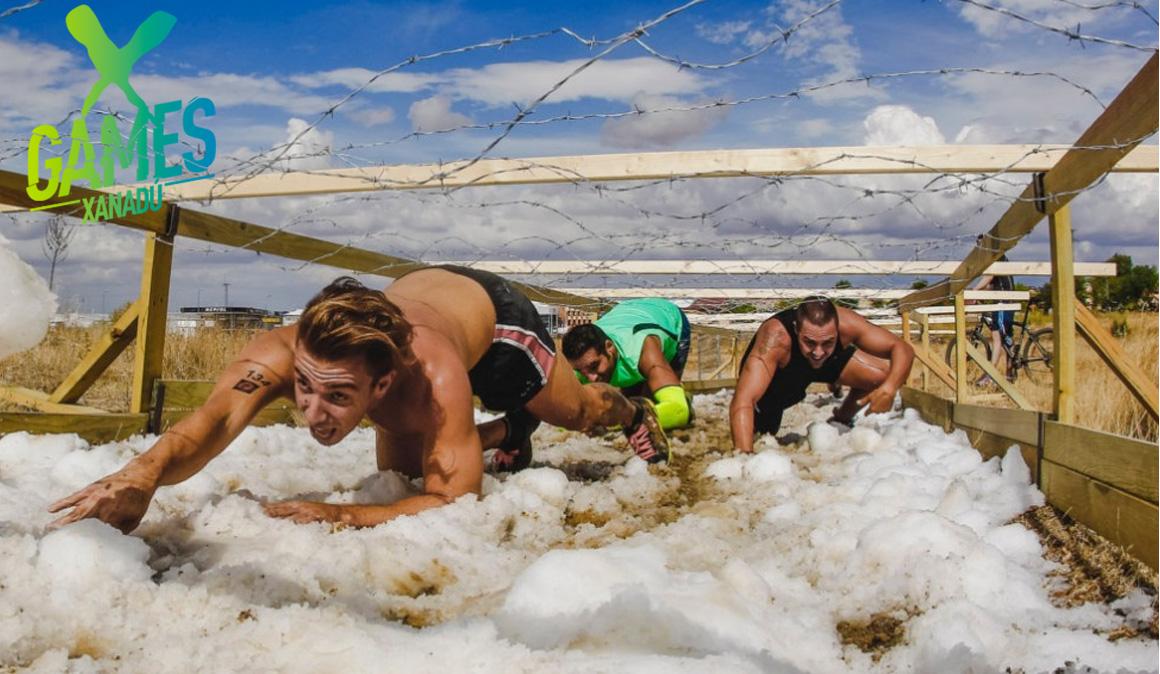 Una carrera única para superar obstáculos en la nieve, ¡no te pierdas la Farinato Snow X!