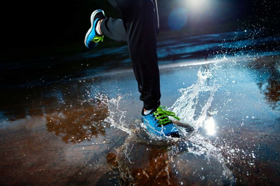 Tus zapatillas como nuevas después de correr en días de lluvia