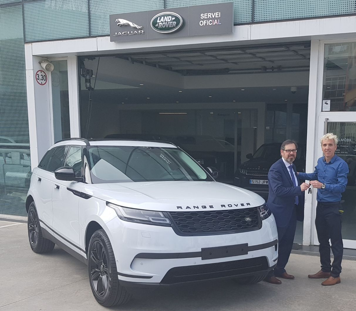 El nuevo Range Rover Velar, el coche elegido por José Luis Blanco