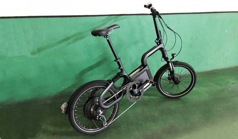 Probamos la primera bicicleta eléctrica de Kymco