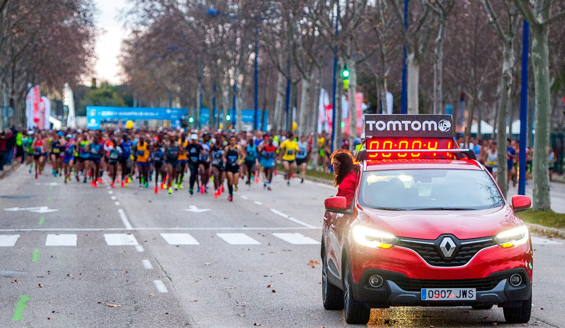 Renault el compañero perfecto para los corredores