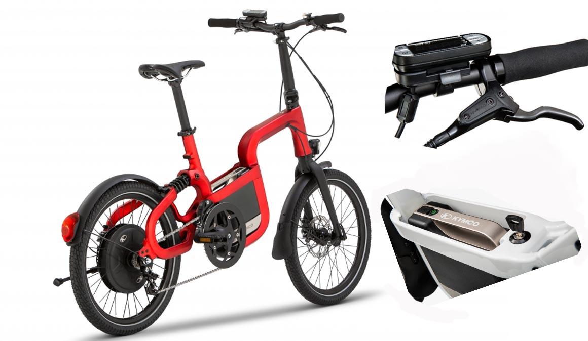 Las 10 claves de las nuevas bicis eléctricas de Kymco