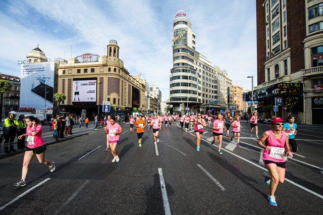 Cómo apuntarte a la Carrera de la Mujer de Madrid