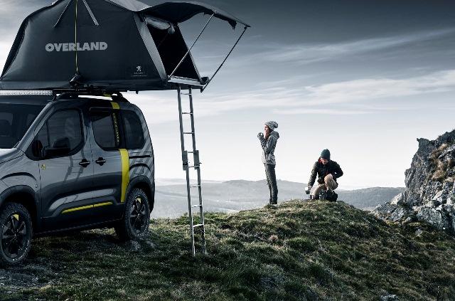 Peugeot finalmente venderá en España la tienda de campaña del Rifter 4x4 Concept