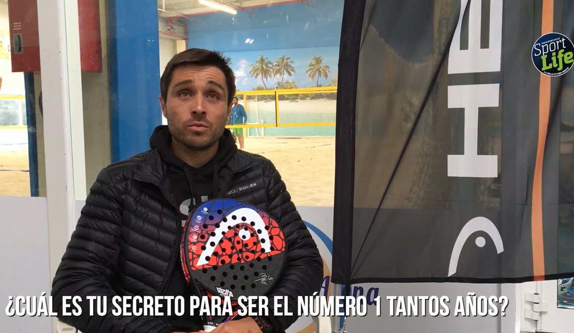 Entrevistamos a Fernando Belasteguín en los Head Fusion Days de Zaragoza