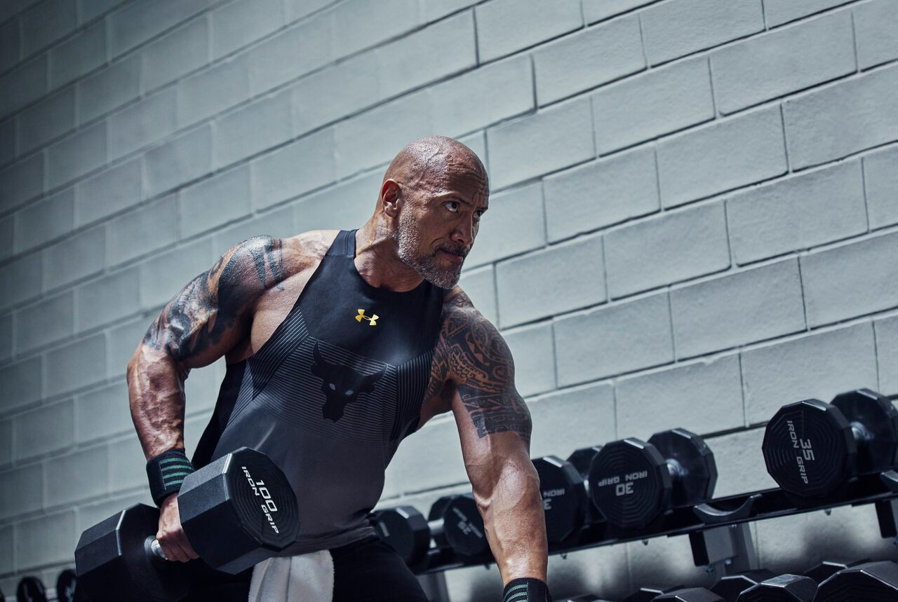 Nueva colección de Under Armour y The Rock