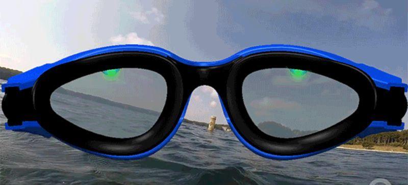 Las gafas que te ayudan a orientarte cuando nadas en aguas abiertas