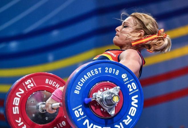 Lydia Valentín arrasa y gana su cuarto título europeo