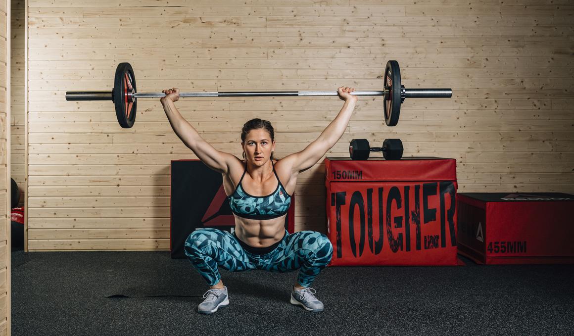 Estos son los ejercicios favoritos de Tia-Clair Toomey, la mujer más en forma del mundo