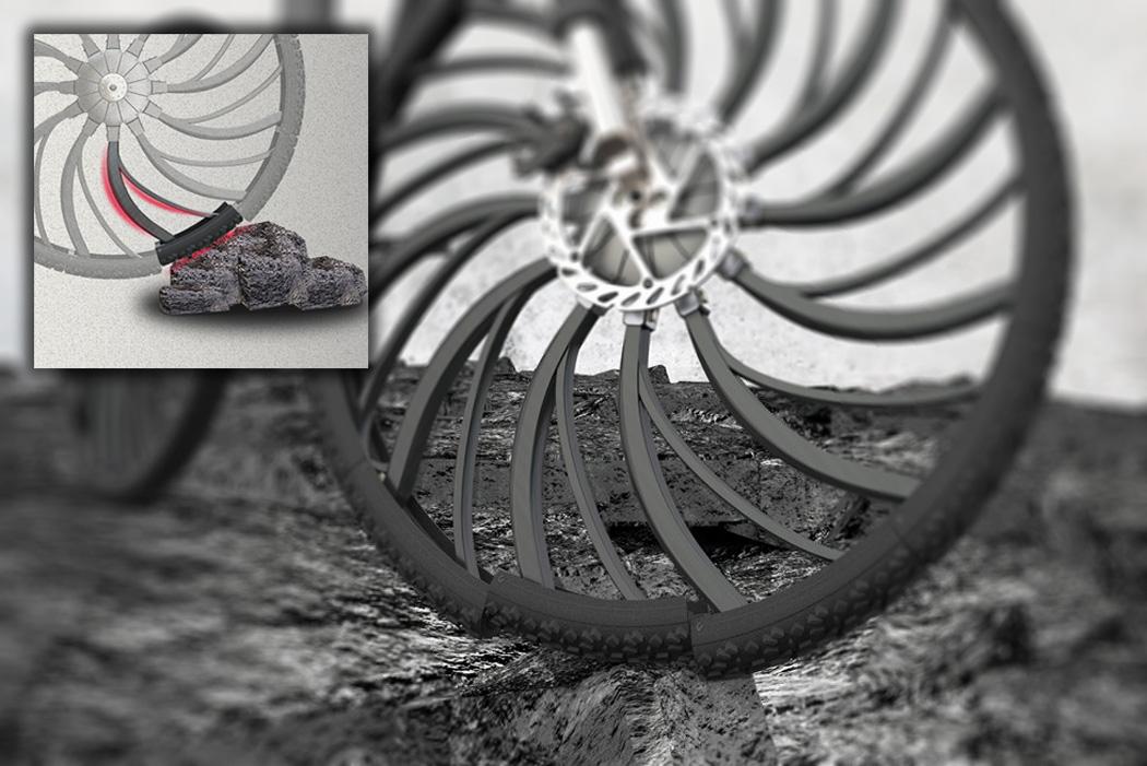 Tener un pinchazo con estas ruedas ¡es imposible!