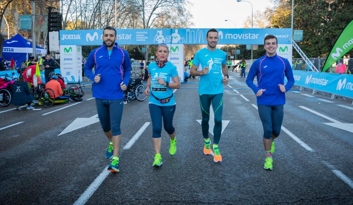 ¡Así vivieron los ganadores del #RetoJomaMMMM el Medio Maratón de Madrid!
