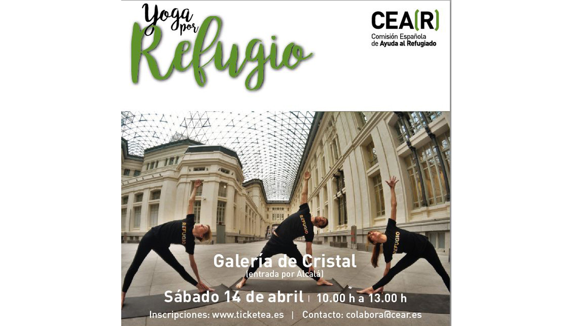 Yoga por refugio
