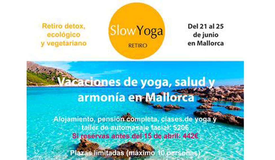 Retiro de yoga y Salud en junio en Mallorca