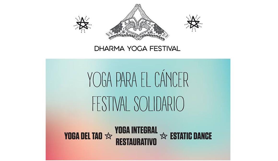 Dharma Yoga Festival. Cita Solidaria con el Cáncer
