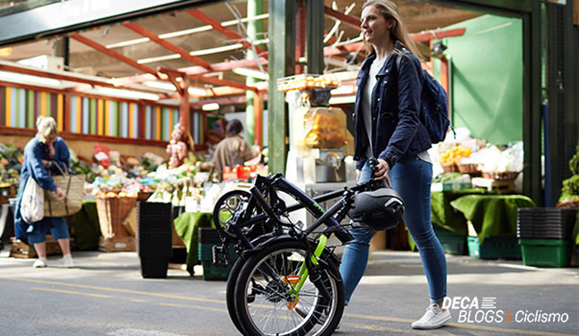 Bicicleta plegable, ¡versatilidad total!