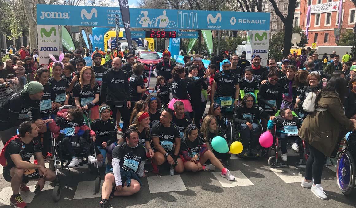 Las historias más emocionantes del Movistar Medio Maratón de Madrid