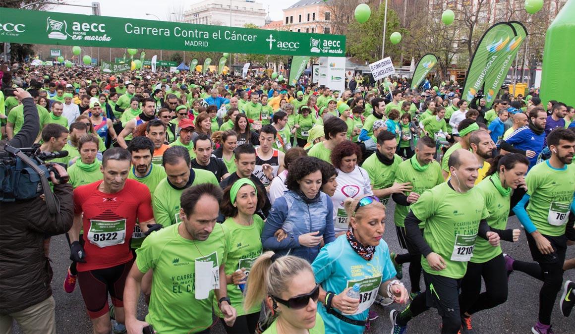 17.000 personas corren y caminan contra el cáncer en Madrid