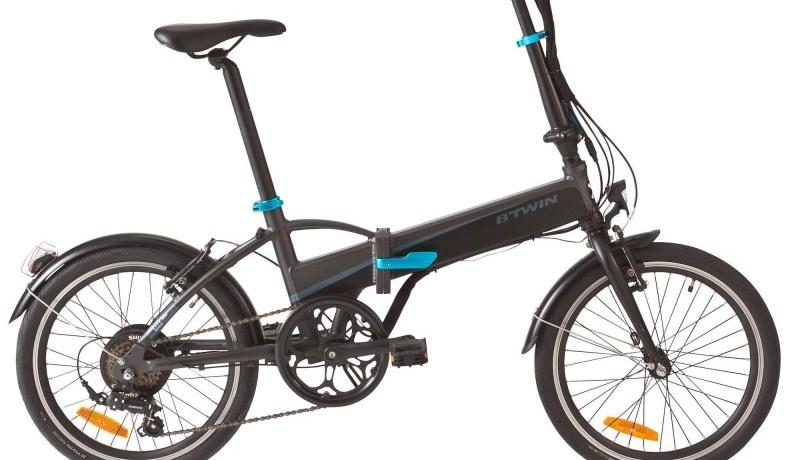 La bici eléctrica plegable  de Decathlon que cuesta menos de 700 euros