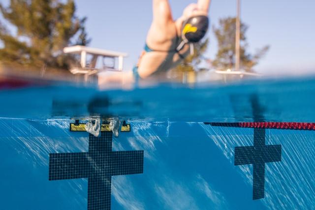 """La """"herramienta"""" para mejorar tu salida en natación"""