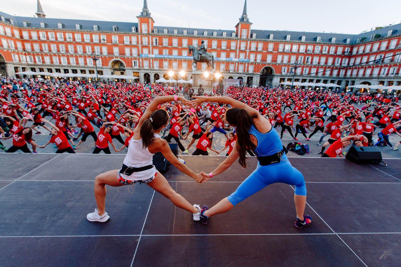 La fiesta del fitness llega a Madrid