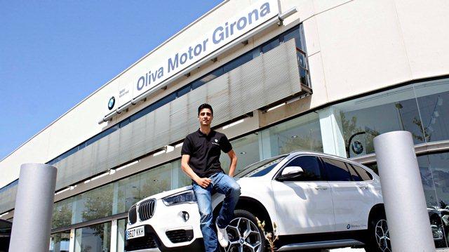 El nuevo BMW de Joel González