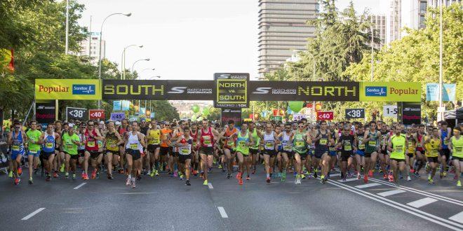 Skechers Norte-Sur: duelo al sol en el asfalto de Madrid