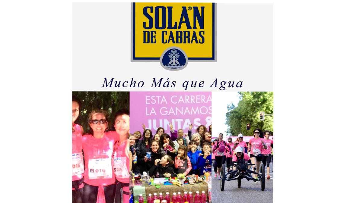 ¡No te pierdas las charlas y talleres gratuitos de Solán de Cabras en La Carrera de la Mujer de Madrid
