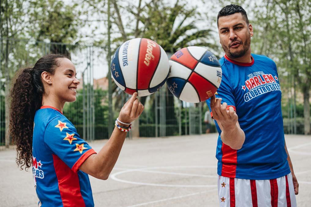 Cómo controlar el balón como un/a Harlem Globetrotters